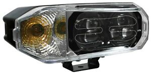 Set Of Led Snowplow Headlights New In Box Hiniker Snoway Replacement