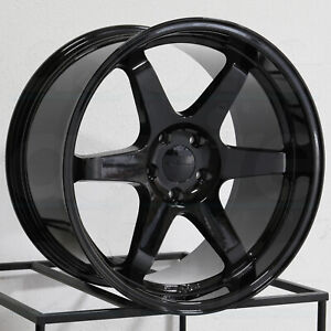 Vordoven Forme 10 19x9 5 5x114 3 22 Gloss Black Wheels 4 73 1 19 Inch Rims