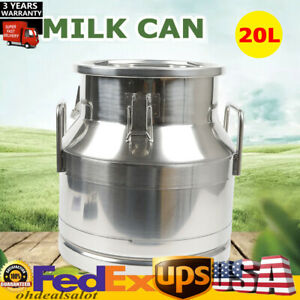 Milk Can Wine Pail Bucket 20l Tote Jug Oil Dairy Pot Bucket Dairy Cattl Hotsale