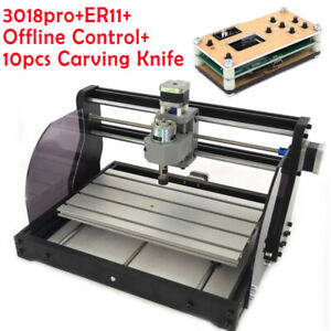 Cnc3018 Pro Diy Router Engraving Milling Machine Offline Control 3 Axis Collet