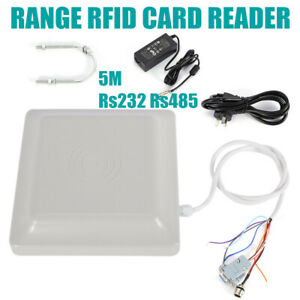 5m Rfid Uhf Passive Directional Reader For Car Packing System Windshield Tags