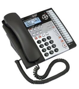 At t Small Business System Model 1070 Corded Desk Phone 4 Lines Speakerphone