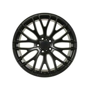19 A1 Mesh Style Staggered Black Wheels 19x8 5 19x9 5 35 5x114 3 set Of 4