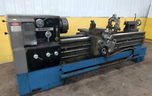 20 X 80 Summit Model 20x80b Engine Lathe Ybm 14153