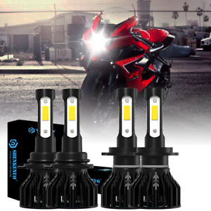 High Power Hid Led Headlight H7 9005 Bulbs Lights For Suzuki Gsxr 1000 2005 2006