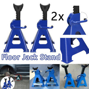 Jack Stands 6 Ton Set Pair Of 1 Ratcheting Locking Adjustable Automotive 0 Ship