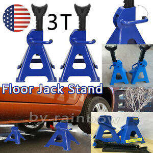 1 Pair Racing Jack Stands 3 Ton 6 000 Lb Heavy Duty For Car Truck Auto us