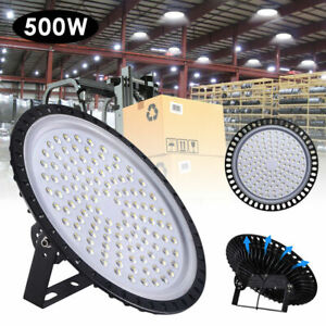 New 500w Ufo Led High Bay Light Warehouse Industrial Light Fixture 50000lm