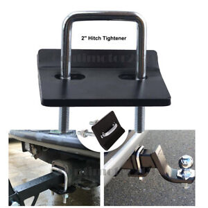 2 Hitch Mount Cargo Carrier Anti Rattle Hitch Tightener Stabilizer Towing