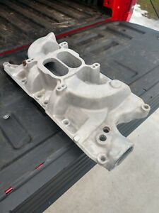 Early Edelbrock F4b Intake Manifold Ford 289 302 Shelby Gt350 Mustang Sunbeam