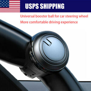 Car Power Steering Wheelball Suicide Auxiliary Knob Booster 360 Spinner Handle