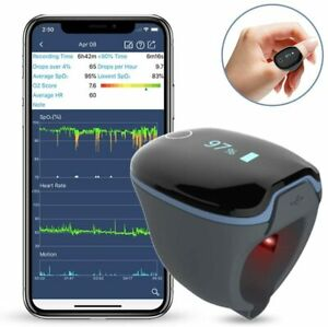 Wellue Fda Medical grade Wearable Ring Oxygen Monitor sleep With Peace Of Mind