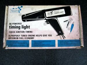 Vintage Sears Dc Powered Timing Light Gun 21581 Craftsman Made In Usa