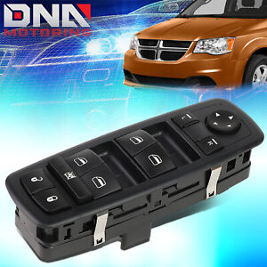 For 2008 2011 Town Country Driver Side Master Power Mirror Window Lock Switch