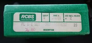RCBS Reloading Die Set 357 Herrett #34301 in box $69.95
