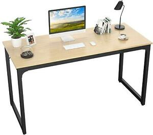 Study Desk Wood Computer Pc Table Home Office Furniture Pc Laptop Workstation