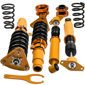 Full Assembly Coilovers For Mazda 3 2004 2013 Adjustable Height Struts Shocks