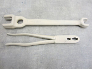 Klein 3146 Lineman Wrench Tool Crimping Pliers Wrench