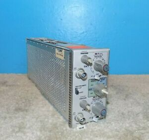 Tektronix 7a18 Dual Trace Amplifier Good Condition Free Shipping