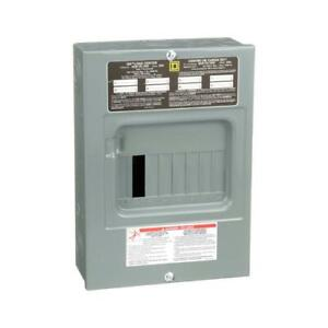 Square D By Schneider Electric 100 amp Main Lug Load Center