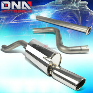 4 muffler Tip Stainless Exhaust Catback System For 12 14 Chevy Sonic T300 Turbo