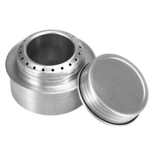 Camping Alcohol Stove Aluminum Alloy Outdoor Picnic Mini Spirit Cooking Burner