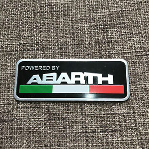Fiat Abarth Car Sticker Emblem Side Badge Decal Styling Accessories