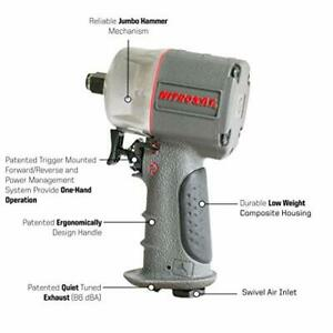 Aircat Pneumatic Tools 1056 xl 1 2 Compact Composite Impact Wrench Air Powered