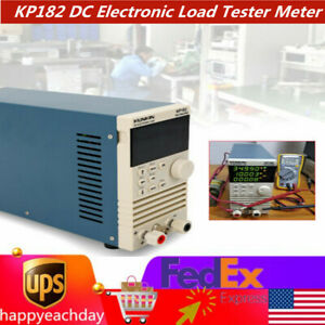 Kp182 Dc Electronic Load Tester Meter 20m 500vdc Cc Single Channel 210w Tester