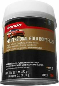 Bondo 237 Auto Body Filler Metal Car Boat Bondo Kit Cream Hardener Automotive