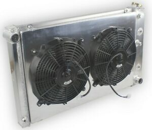 3 Row Radiator Shroud Fan For Chevy Camaro 1970 1981 Monte Carlo 78 1987 G body
