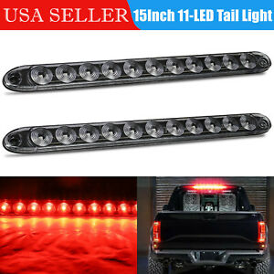 5x Amber 5x Red Led Clearance Side Marker Lights For Car Rv Truck Trailer Pickup