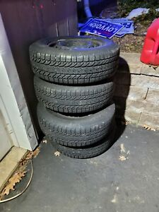 4 Tires With Steal Wheels 225 70 R16 05 10 Honda Odyssey
