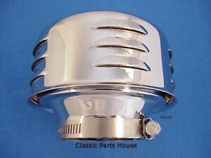 Air Cleaner Chrome Louvers 2 5 8 Neck Stromberg 97