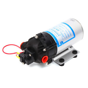 Micro Diaphragm High Pressure Self Priming Water Pump 12v 6a 40w Max 5l min Usa