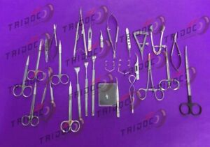 Basic Eye Set Of 44 Instruments Ophthalmic Surgical Instruments A