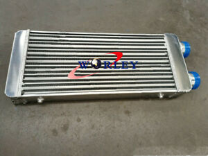 Turbo Full Aluminum Intercooler 600x300x70mm 3 Delta Fin Same Side In Outs
