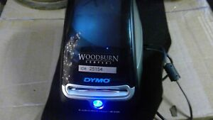 Dymo Labelwriter 450 Label Printer Black silver Tested Working No Power Cable