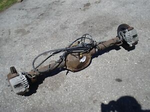 3 42 Gu6 Disc Brake Rear End Axle Chevy S10 Truck Sonoma Xtreme 55 Long 2wd