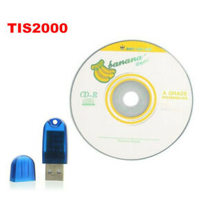 Tis 2000 And Usb Key For Gm opel saab Car Model Code Reader Software Tool