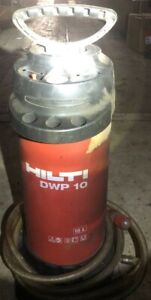 Hilti Dwp 10 Water Supply Unit