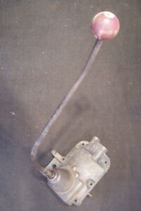 1951 New Process 420 4 Speed Transmission Shifter And Top Cover C88481 Dodge