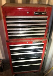 Craftsman Tool Box With Tools