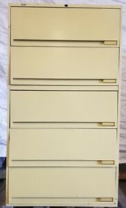 Used 5 Drawer Lateral Filing Cabinet