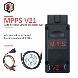 Mpps V21 Mpps V18 V16 Diagnostic Tool Main Tricore Multiboot With Breakout Cable