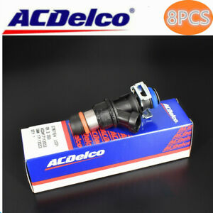 8pc Acdelco Fuel Injectors For 01 07 Chevy Gmc Cadillac 4 8 5 3 6 0l 832 11180