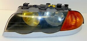 Headlight Head Lamp Left Driver Sedan Halogen Bmw E46 323 328 325 330 99 01
