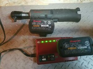Snap on 14 4v 1 4 Impact Wrench Cordless Tool 2 Batteries And Charger