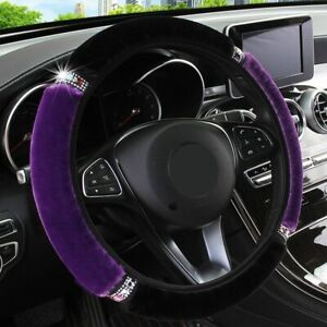 Universal 37 38cm Soft Car Steering Wheel Cover Interior Accessories Car styling