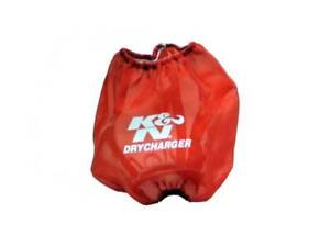K N Drycharger Round Tapered Red Air Filter Wrap